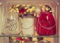 Jar Lid and Jar Candle Decoration