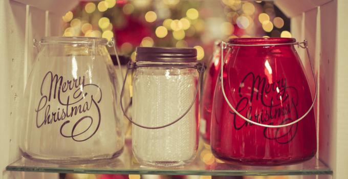 Jar Lid and Jar Candle Decoration